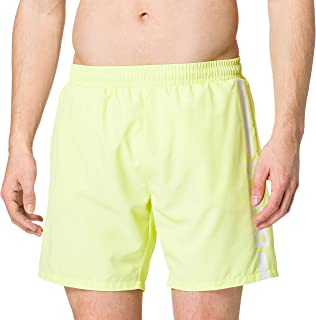 BOSS Mens Dolphin Quick-Dry Logo Swim Shorts in Recycled Fabric