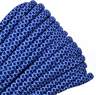 Bored Paracord - 10', 25', 50', 100' Hanks of Parachute 550 Cord Type III 7 Strand Paracord - 20 Diamond Paracord Colors