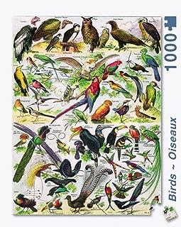 New York Puzzle Company - Birds ~ Oiseaux - 1000 Piece Jigsaw Puzzle
