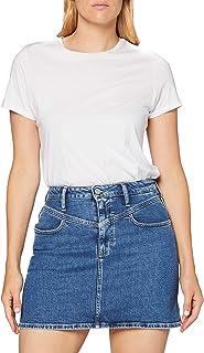 Calvin Klein High Rise Mini Skirt Gonna Donna