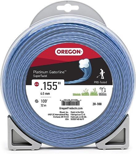 "high quality OREGON 20-108 Platinum Gatorline, 1 Lb.155"" x 100 outlet sale ft, lowest Grey/Black online sale"