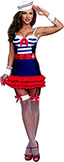 Women's Sailor's Delight Sea Captain Costume
