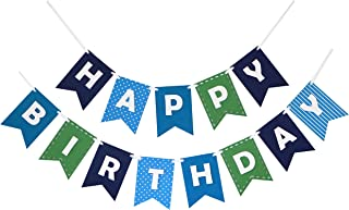 Best happy birthday material bunting Reviews