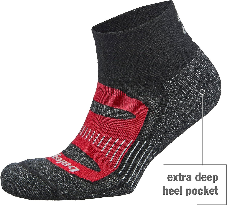 Balega Mens Balega Blister Resist Quarter Athletic Running Socks for Men and Women Quarter Socks