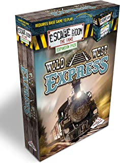 Escape Room The Game Expansion Pack – Wild West Express   Solve The Mystery Board Game for Adults and Teens (English Version)