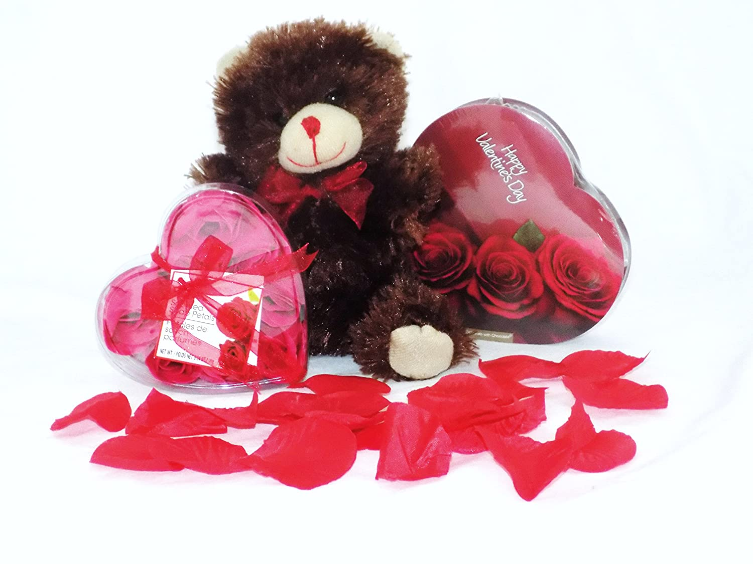 Valentine's Day Chocolate Roses discount and Bear Safety trust Teddy Gift