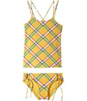 Check It Out Tankini & Adjustable Hipster Set (Big Kids)