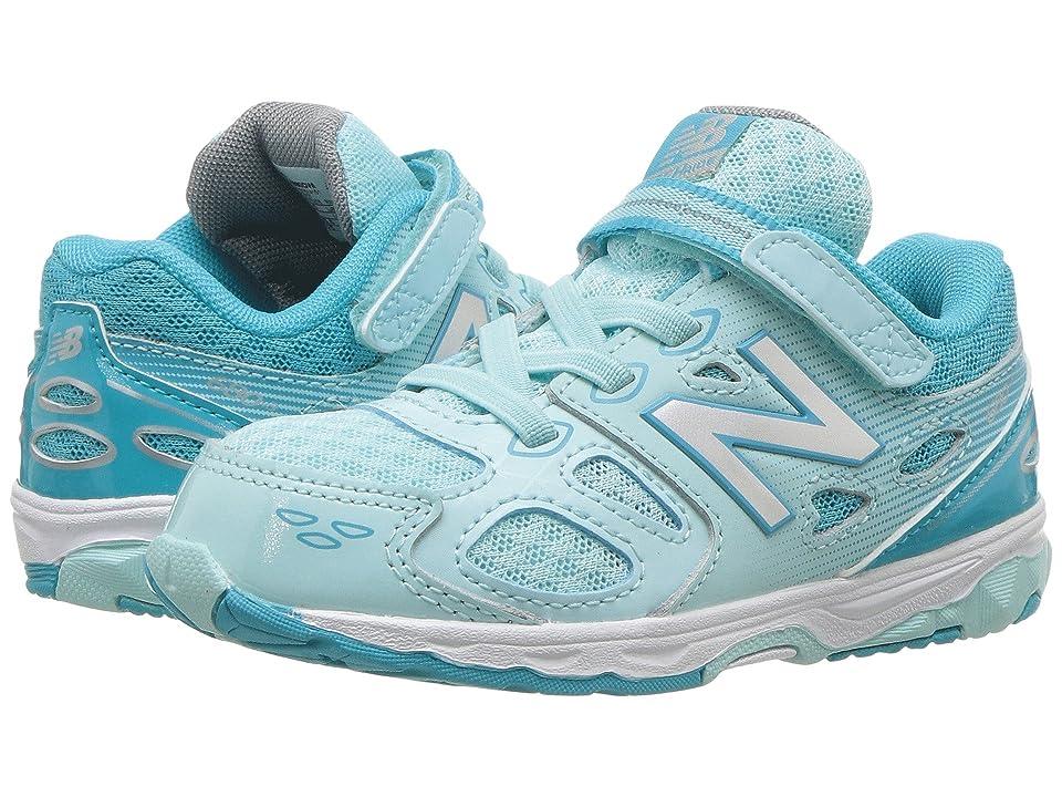 New Balance Kids KA680v3 (Infant/Toddler) (Blue/White) Girls Shoes