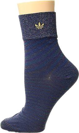 Originals Lurex II Single Quarter Sock