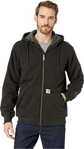87c206a24 Rain Defender® Rockland Sherpa Lined Full Zip Hooded Sweatshirt
