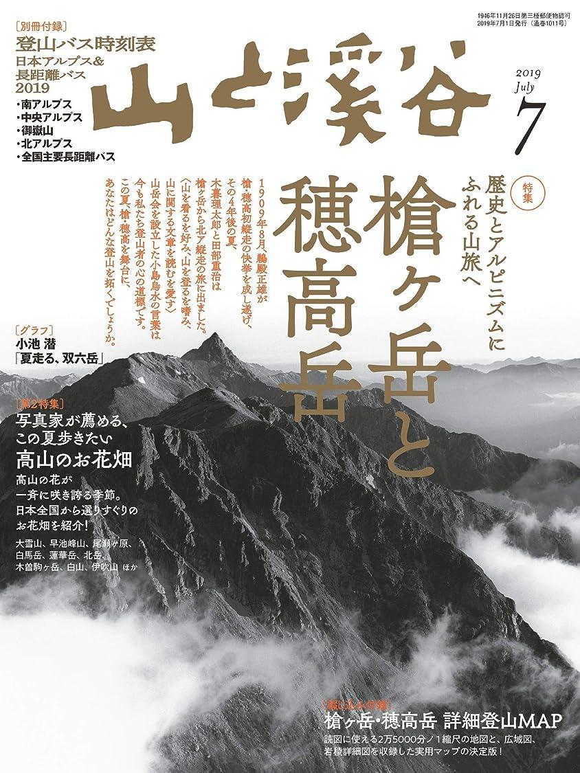 長々と変成器怒って山と溪谷 2019年 7月号 [雑誌]
