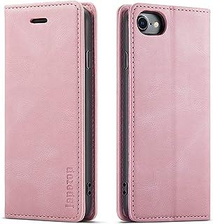 "Case for iPhone SE 2020/7/8/6/6S 4.7"",[Premium Leather] [Soft TPU] [RFID Blocking][Card Slots] [Magnetic Kickstand] Flip W..."
