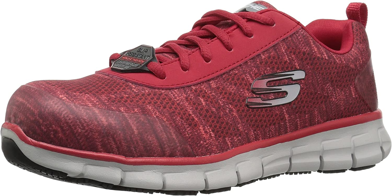 Skechers for Work Women's Synergy Alloy Toe Work shoes