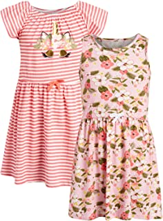 فستان للفتيات الصغيرات من Limited Too Soft Yummy (2 حزمة)