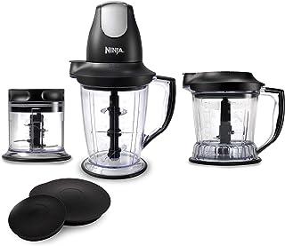 Ninja Blender/Food Processor with 450-Watt Base, 48oz Pitcher, 16oz Chopper Bowl, and..