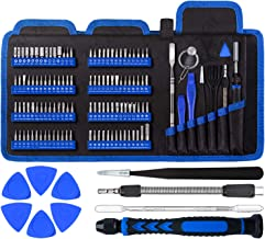 Precision Computer Screwdriver Set, with 111 Small Magnetic Bit, Professional Electronics Repair Tool Kit, Suitable for Ce...