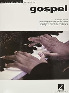 Gospel - Jazz Piano Solos Series Vol. 33