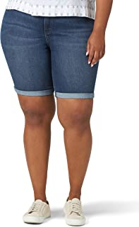 Lee Women's Flex Motion Plus Size Bermuda Short