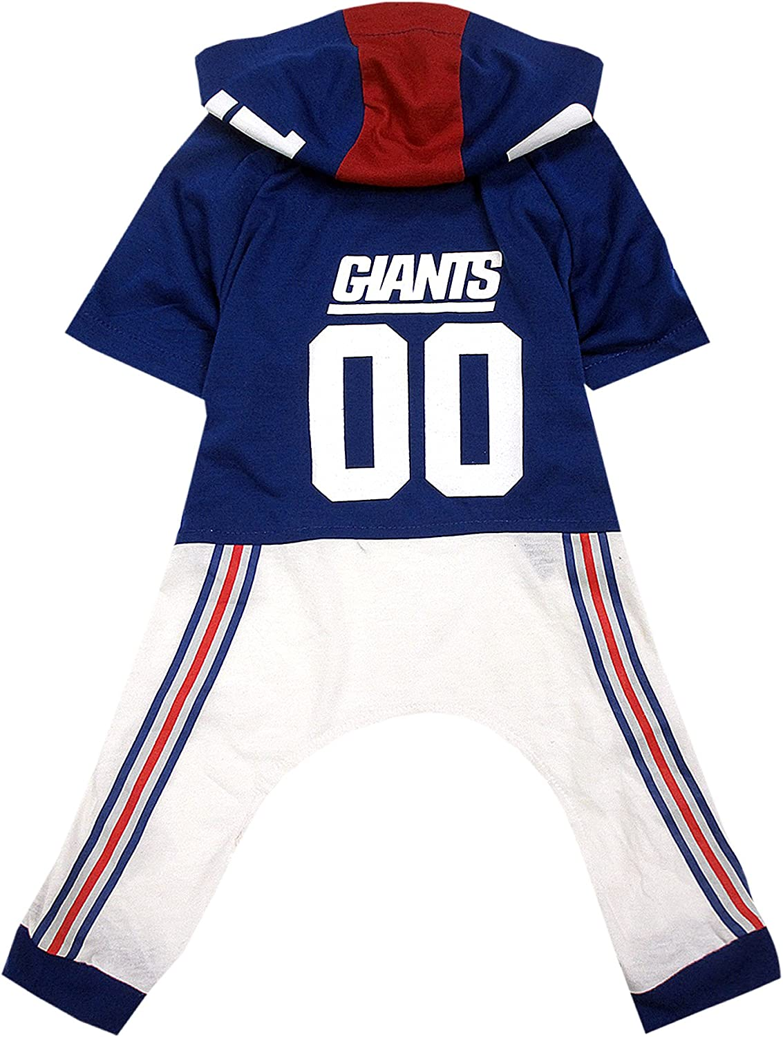 NFL New York Giants Pet Onesie, Size Small. Cutest Pet Outfit for Any Pet, Any Occasion