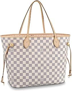 Louis Vuitton Neverfull MM Damier Azur Bags Handbags Purse