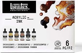 Liquitex Professional Acrylic Ink!, Assorted Metallic, 1 oz