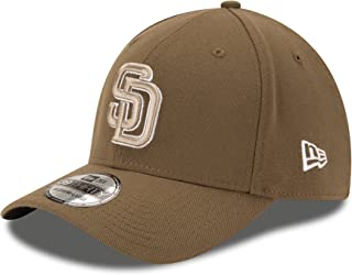 New Era San Diego Padres Fitted 39Thirty MLB Curve Brim Baseball Cap 3930