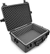 Casematix Waterproof Audio Mixer Case Compatible with Behringer Xenyx X1222USB X1622USB X1204USB Channel Interface Fits 17...