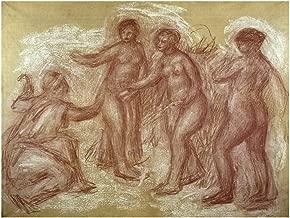 Music Poster Auguste Renoir - Le Jugement de Paris (Das Urteil des Paris) Print 60x80cm
