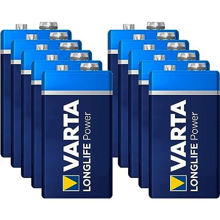 Varta Batterien Longlife Power E Block 9 0 V 20 Stück Bürobedarf Schreibwaren
