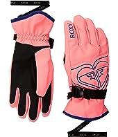 Roxy Kids Poppy Girl Gloves (Little Kids/Big Kids)