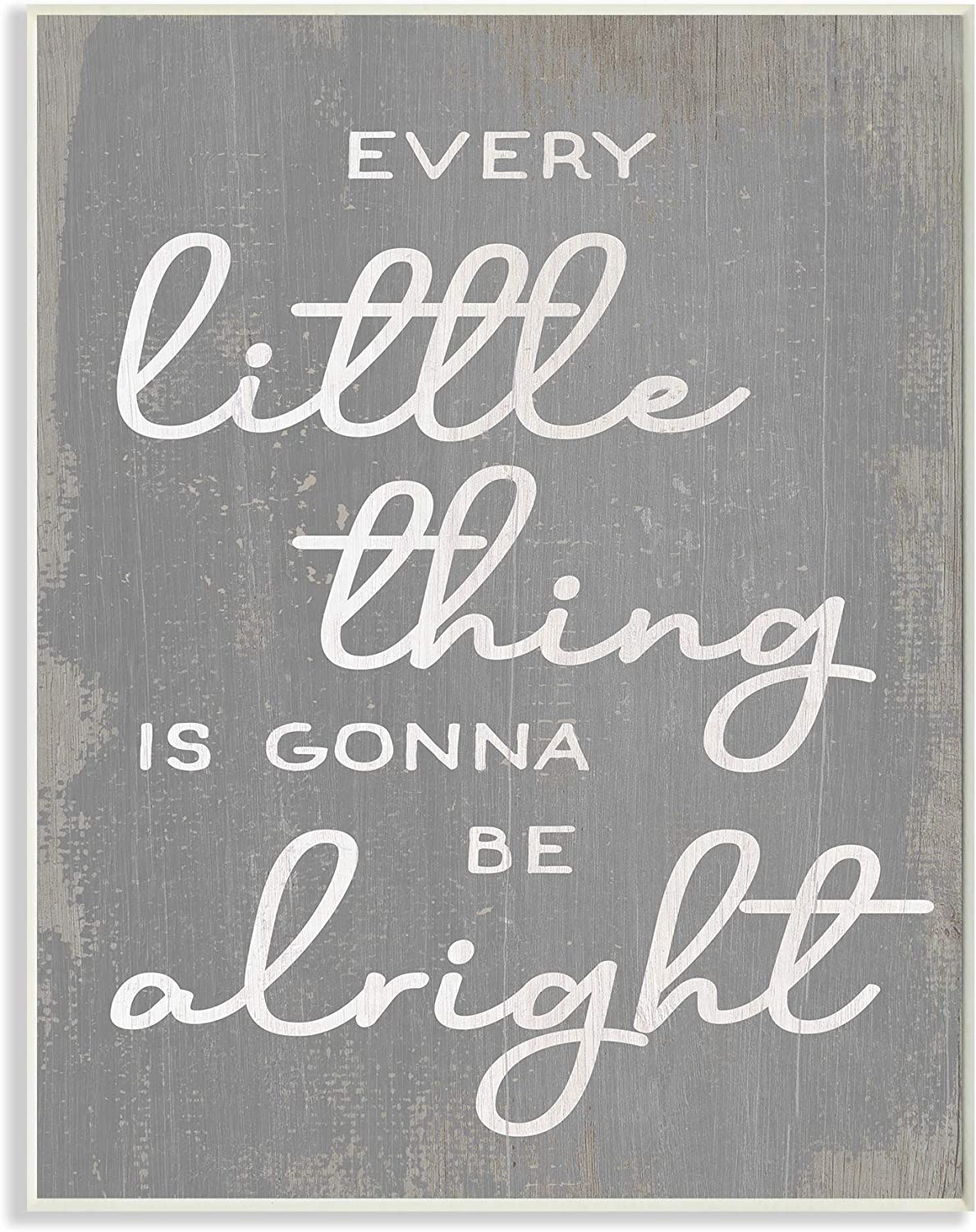 Stupell Industries Every Super intense SALE Little Thing G Phrase Positivity Rustic Max 67% OFF