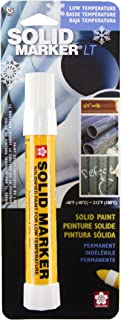 Sakura 46655 White Solidified Paint Low Temperature Solid Marker, -40 to 212 Degree F, 13 mm Twist-Up Tip