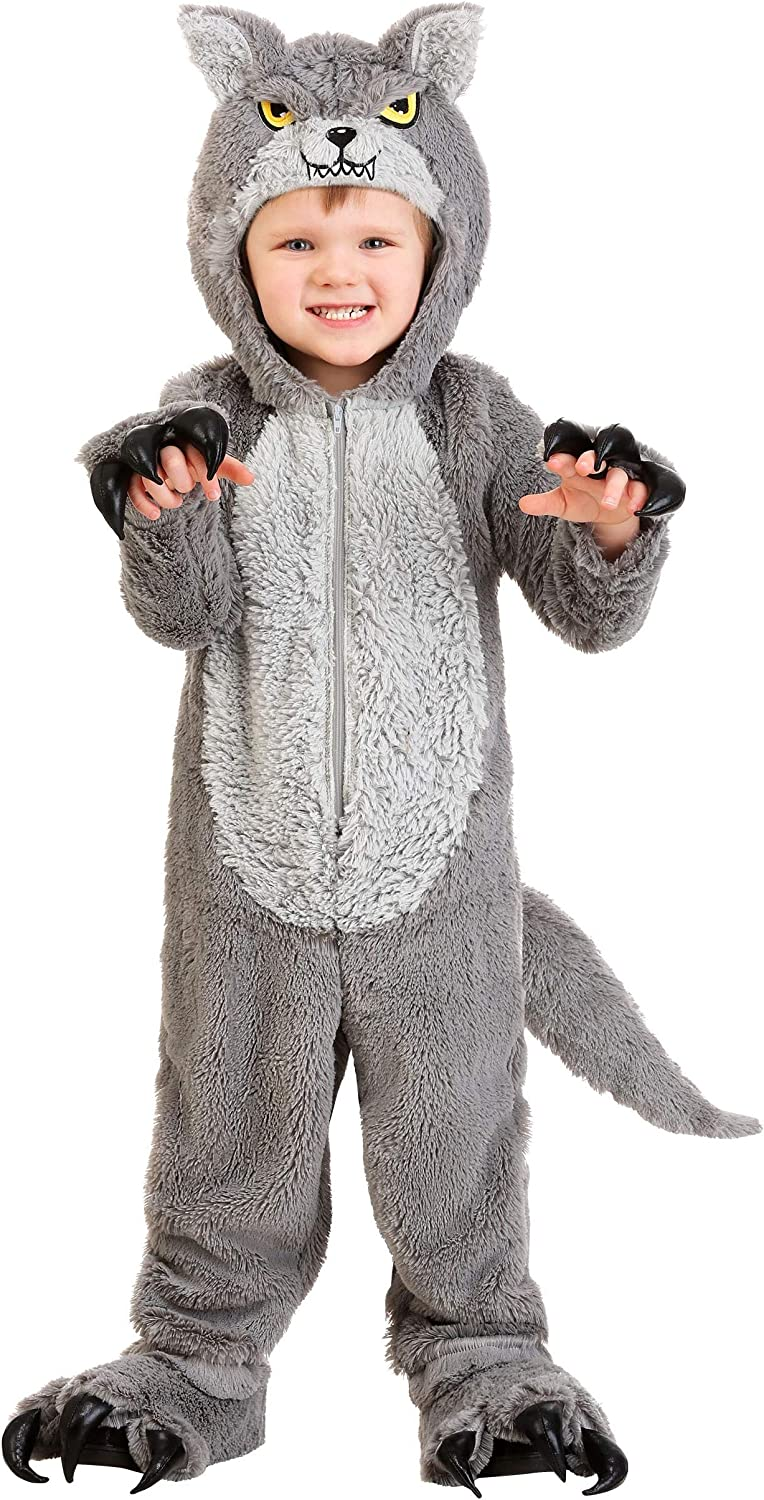 Toddler Arlington Mall Grey Wolf Costume Cub Outfit Boy's 2021