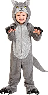 Grey Wolf Costume Toddler