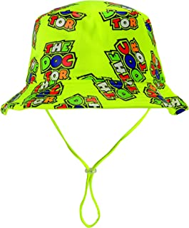 VR46 Valentino Rossi Baby Sun Hat 12-24 Months Toddler - #46 The Doctor Design