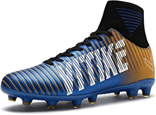 Kids Soccer Cleats Boys Youth Cleats Football Boots High-top Cleats for Soccer