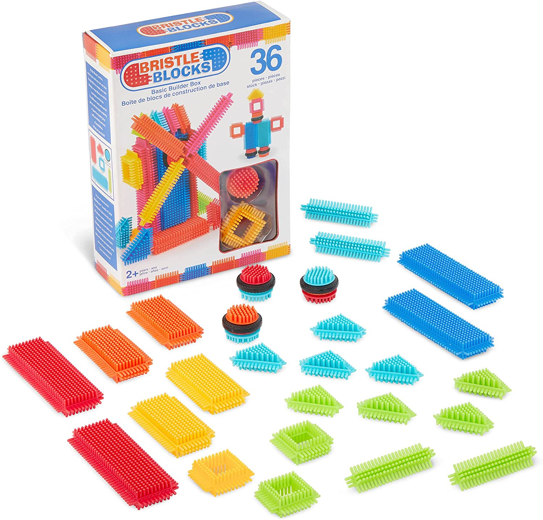 Bristle Blocks by Battat - cheap for Building STEM Nippon regular agency Soft Kids