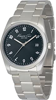 Kenneth Cole New York Women's Quartz Stainless Steel Case Stainless Steel Bracelet Silver,(Model:KC4777)