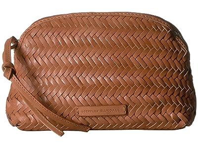 Loeffler Randall Demi Woven Belt Bag (Timber Brown) Handbags