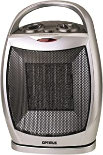 Optimus H-7247 Portable Oscillating Ceramic Heater with Thermostat