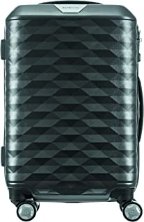 Samsonite 111636 Polygon Hard Side Spinner Suitcase, Dark Grey, 55 Centimeters