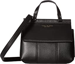 65bb44c2827 Tory Burch. Robinson Color Block Triple-Compartment Tote. $458.00.  Black/Black