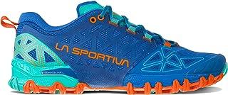 La Sportiva Bushido II Women's Running Shoe, Marine Blue/Aqua, 39