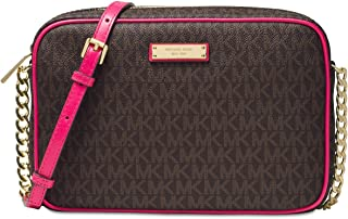 40d3f35f7d76 Michael Kors Women s Jet Set Large Crossbody Bag