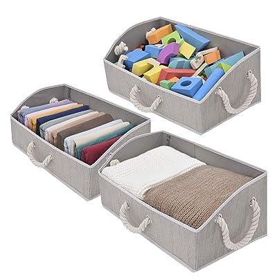 StorageWorks Storage Bins, Fabric Storage Baske...