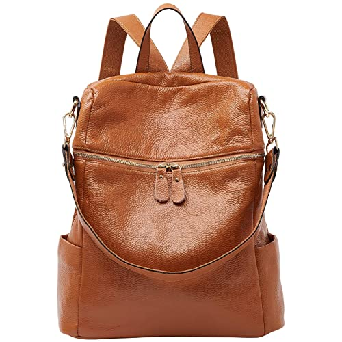 544f906485a1 BOYATU Convertible Genuine Leather Backpack Purse for Women Fashion Travel  Bag
