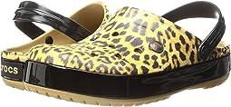 Crocband Leopard II Clog