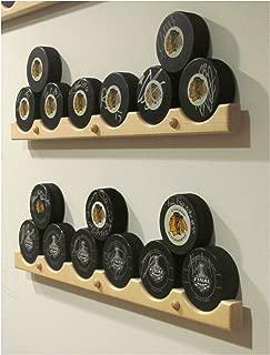 6pcs Hockey Puck Display Case Holder / Rack 22