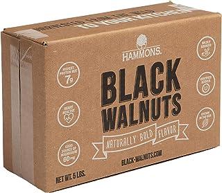 Hammons Black Walnuts, Fancy Large, 5 lb, Highest Protein Nut, Heart Healthy, Non-GMO, Naturally Gluten-Free, Top Keto Nut...