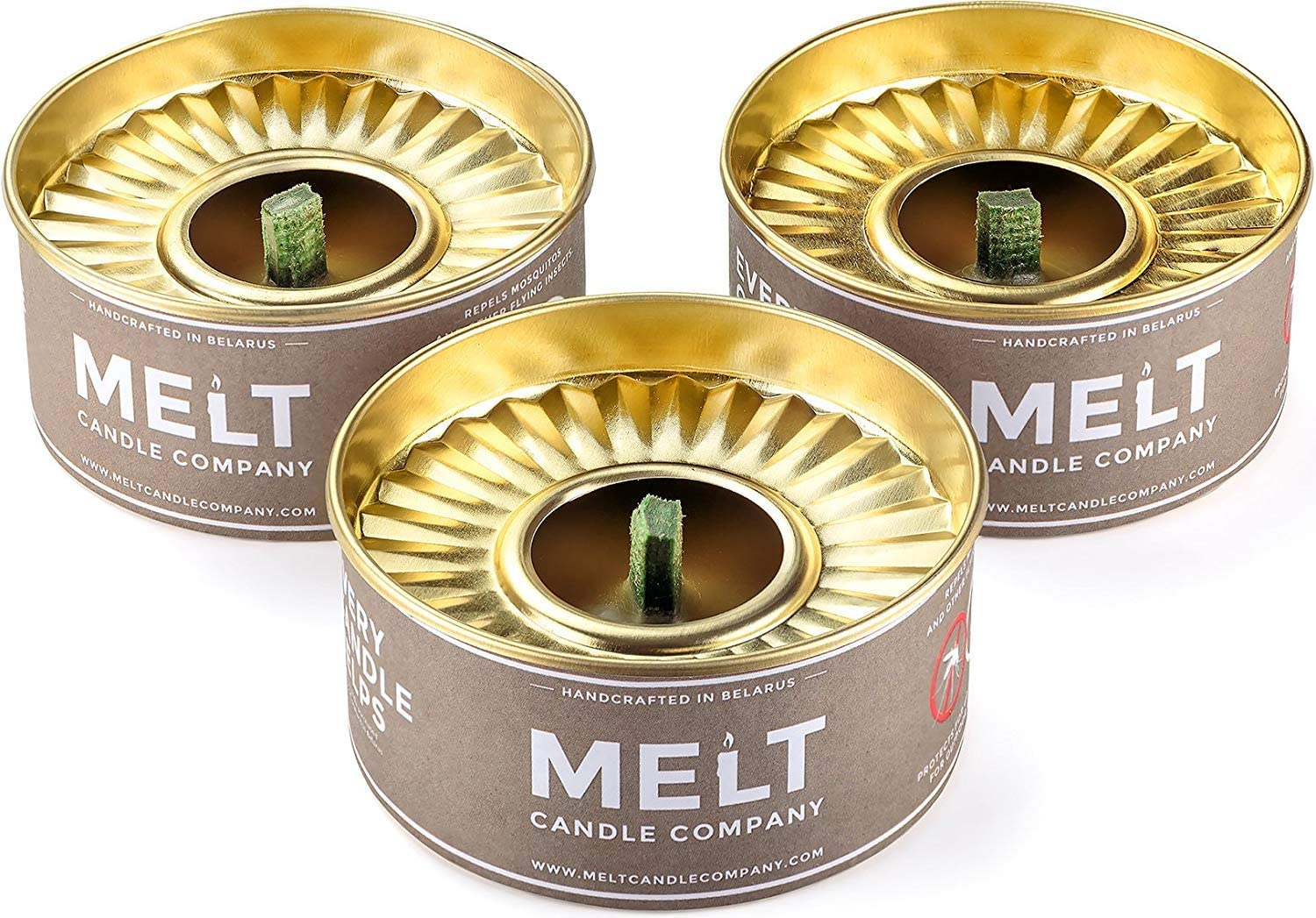5 Chicago Mall ☆ popular Melt Candle Company Set of Candles Outdoor 3